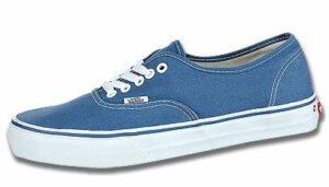 Vans-blau