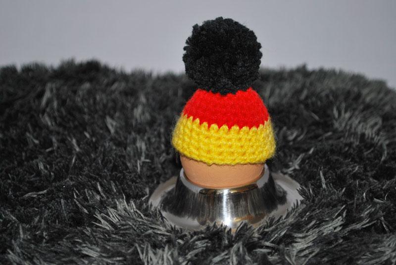 Eierwärmer mit Bommel - Deutschland